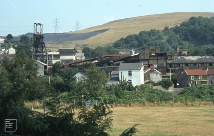 Hopkinstown, Pontypridd mine and rehabilitated tip, 1983