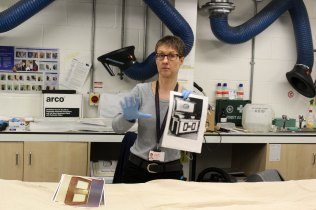 Jen Griffiths talks about her work as a conservator